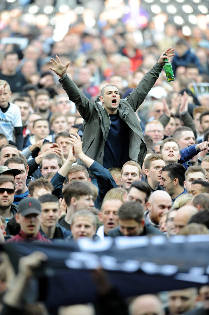 Pitch invasion!